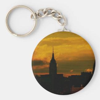 Sunset New York City Key Chains