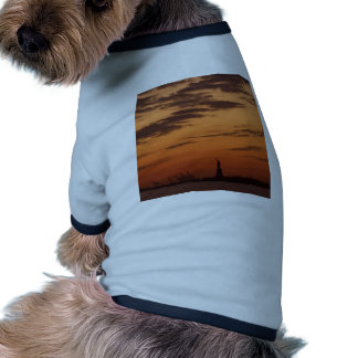 """""""Sunset New York Harbor and Statue of Liberty"""" Pet Clothing"""