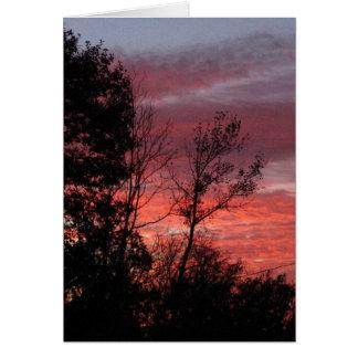 sunset #nnn card