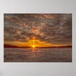 sunset Norway Affischer