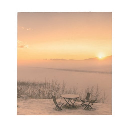 Sunset Norway wintertime Scratch Pad