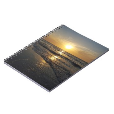 Beach Themed Sunset Notebook