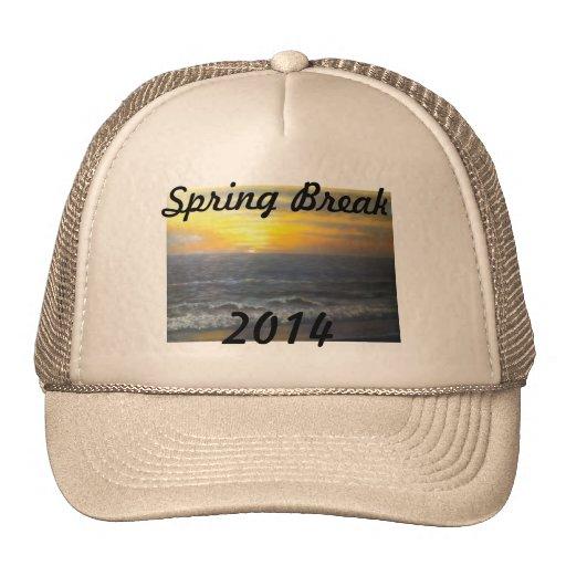 """""""SUNSET OCEAN SPRING BREAK 2014 HAT"""""""