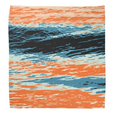 Beach Themed Sunset/Ocean/Wave/Sea Bandana