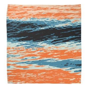 Beach Themed Sunset/Ocean/Wave/Sea Bandana