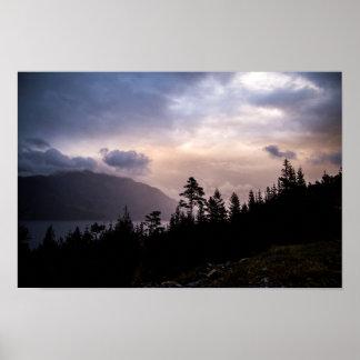 Sunset of over Hordaland