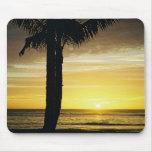 Sunset off Waikiki Mouse Pads