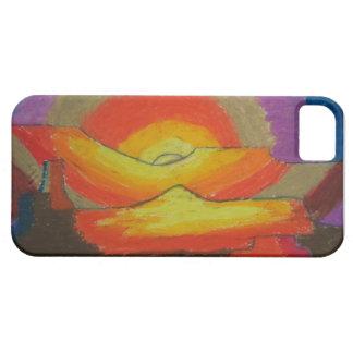 Sunset - Oil Pastels iPhone SE/5/5s Case