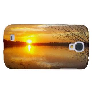 Sunset On A Lake Samsung Galaxy S4 Case