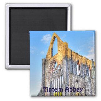 Sunset on Ancient Tintern Abbey, Wales, UK Fridge Magnet