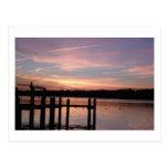 Sunset on Barnegat Bay Postcard