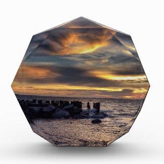 Sunset on Charleston Harbor Acrylic Award