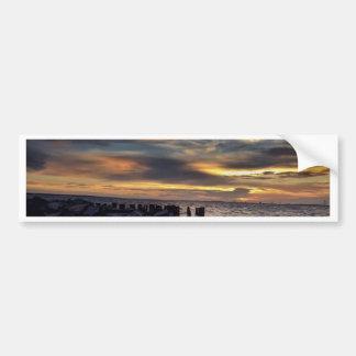 Sunset on Charleston Harbor Bumper Stickers