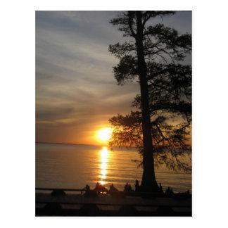 Sunset on Currituck Sound, NC Postcards