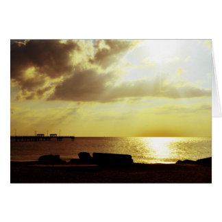 Sunset on DeSoto Card