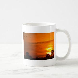 Sunset on Fire Coffee Mug