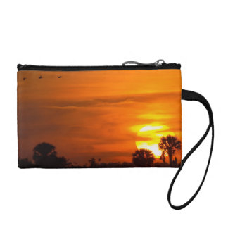 Sunset on Fire Coin Purse