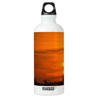 Sunset on Fire Water Bottle