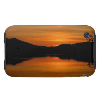 Sunset on Fox Lake; No Text Tough iPhone 3 Case
