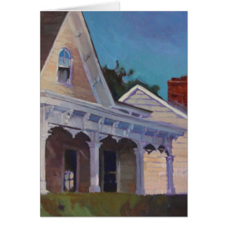 Sunset on Front Porch Card