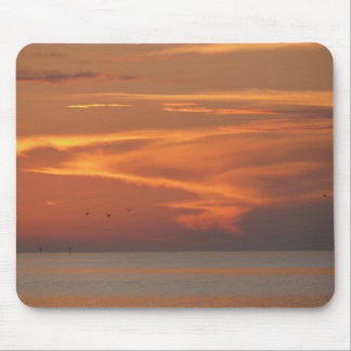 Sunset On Gulf Mouse Pad