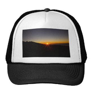 Sunset on Haleakala Volcano Mesh Hat