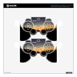 Sunset on Haleakala Volcano PS3 Controller Decals