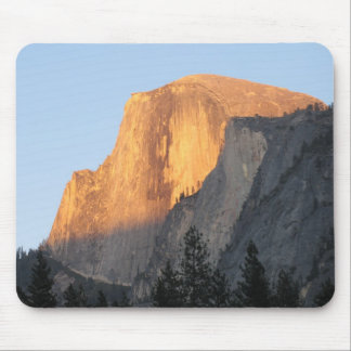 Sunset on Half Dome. Mouse Pad
