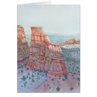 Sunset On Independence Greeting Card