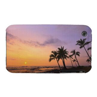 Sunset on Kahaluu Bay in Kona,Hawaii 2 Case-Mate iPhone 3 Case