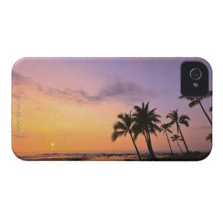 Sunset on Kahaluu Bay in Kona,Hawaii 2 Case-Mate iPhone 4 Case