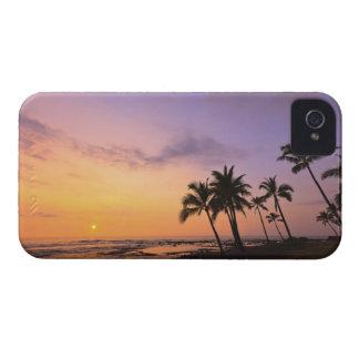 Sunset on Kahaluu Bay in Kona,Hawaii 2 Case-Mate iPhone 4 Cases