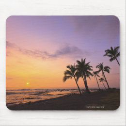 Sunset on Kahaluu Bay in Kona,Hawaii 2 Mouse Pad