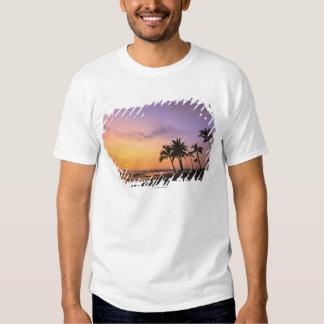 Sunset on Kahaluu Bay in Kona,Hawaii 2 Tee Shirt