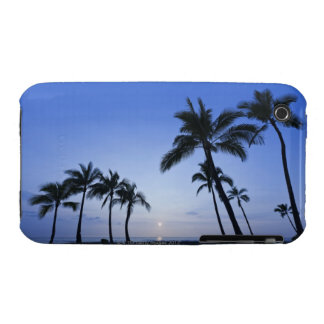 Sunset on Kahaluu Bay in Kona,Hawaii iPhone 3 Case