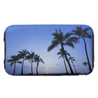 Sunset on Kahaluu Bay in Kona,Hawaii iPhone 3 Tough Covers