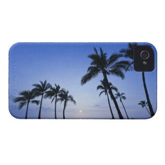 Sunset on Kahaluu Bay in Kona,Hawaii iPhone 4 Case