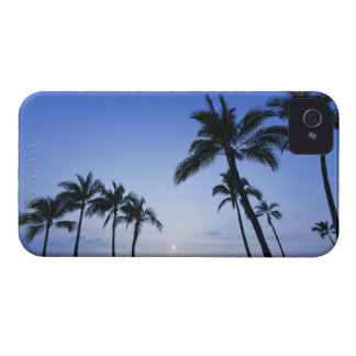 Sunset on Kahaluu Bay in Kona,Hawaii iPhone 4 Covers
