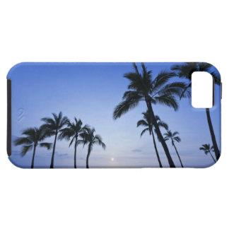 Sunset on Kahaluu Bay in Kona,Hawaii iPhone SE/5/5s Case
