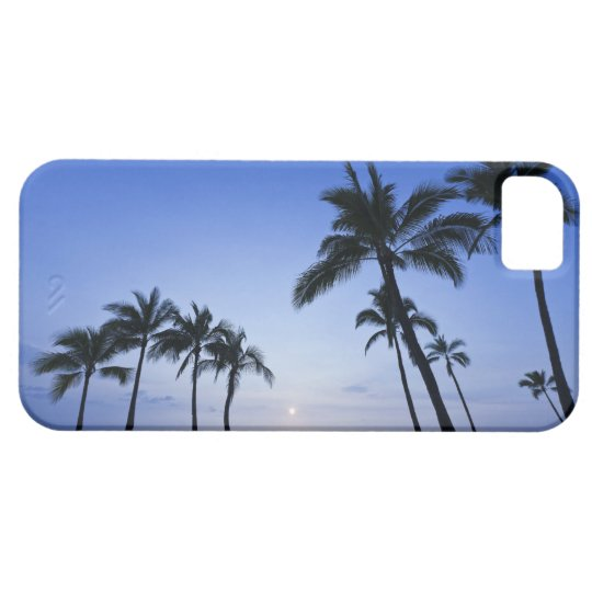 Sunset on Kahaluu Bay in Kona,Hawaii iPhone SE/5/5s Case