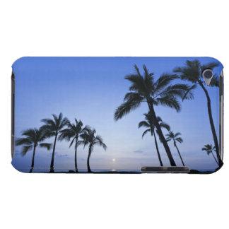 Sunset on Kahaluu Bay in Kona,Hawaii iPod Touch Covers