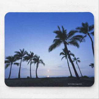 Sunset on Kahaluu Bay in Kona,Hawaii Mouse Pad