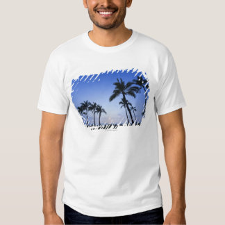 Sunset on Kahaluu Bay in Kona,Hawaii T Shirt