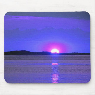 Sunset on Lake Mouse Pad