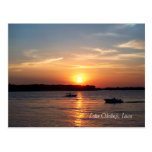 Sunset on Lake Okoboji, Iowa Post Card