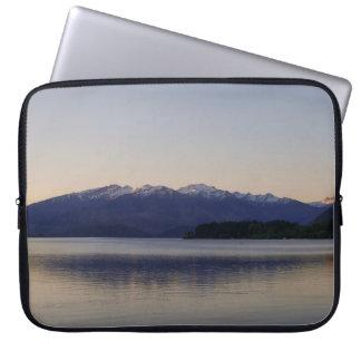 Sunset on Lake Wanaka, New Zealand Computer Sleeve
