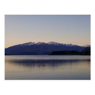 Sunset on Lake Wanaka, New Zealand - Postcard