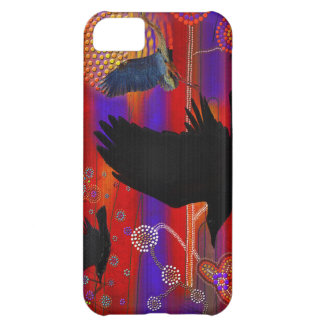 Sunset on Lake Wendouree Australian Aboriginal Art Case For iPhone 5C
