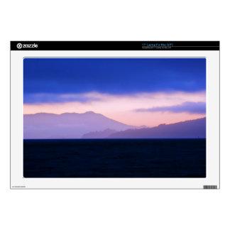 Sunset On Marine Headlands Backdrop Decal For Laptop