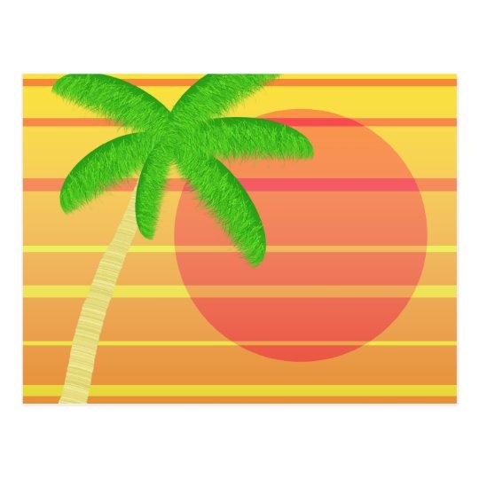 Sunset on Maui Postcard